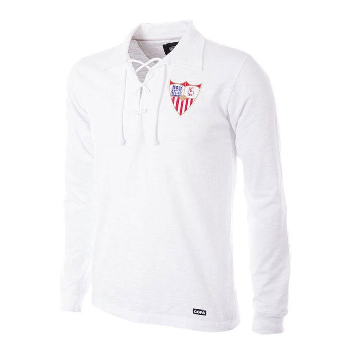 Sevilla 1945-46 Camiseta Retro Fútbol