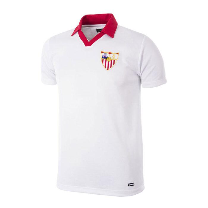 Sevilla 1980-81 Camiseta Retro Fútbol