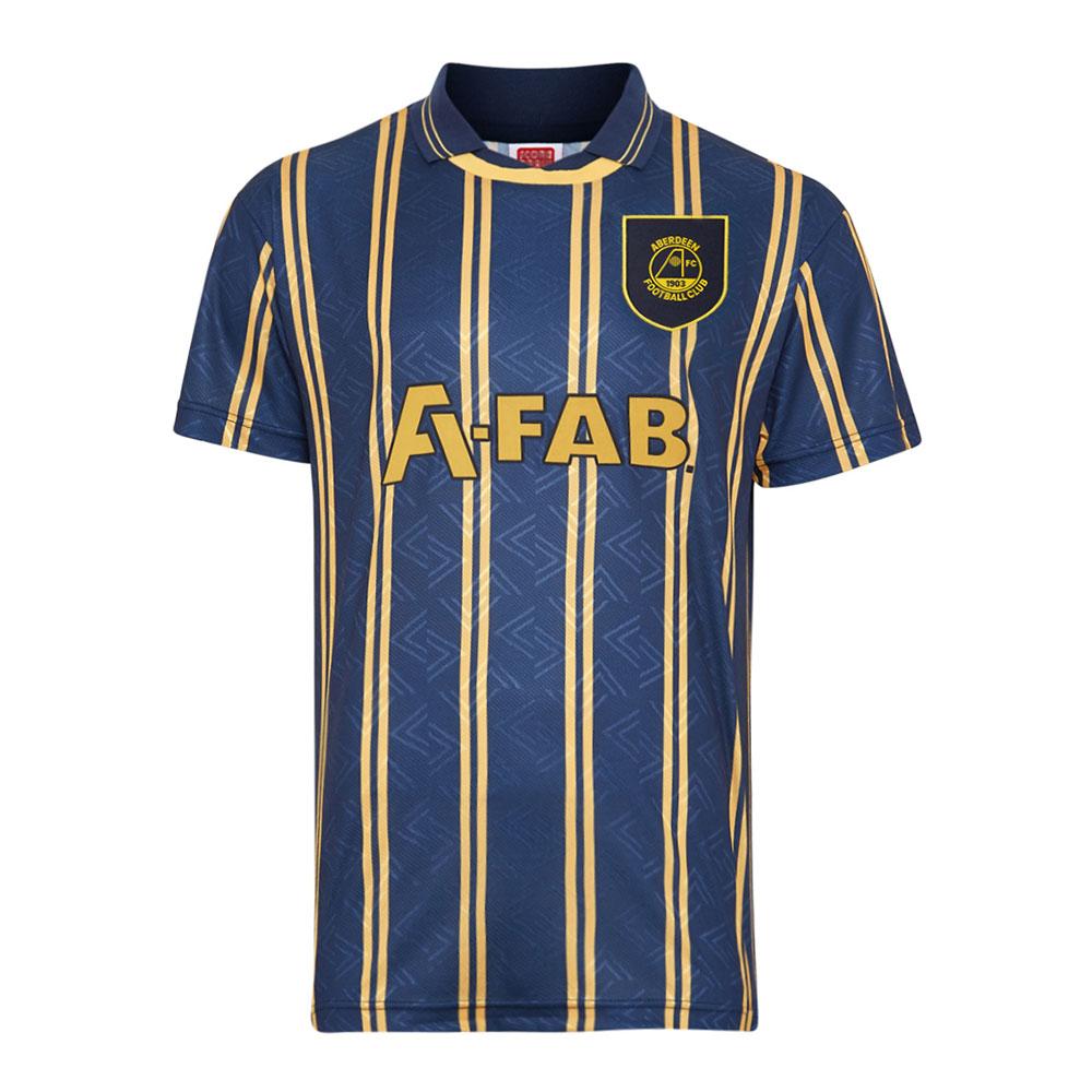 Aberdeen 1993-94 Retro Football Shirt