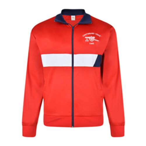 Arsenal 1985-86 Retro Football Track Top