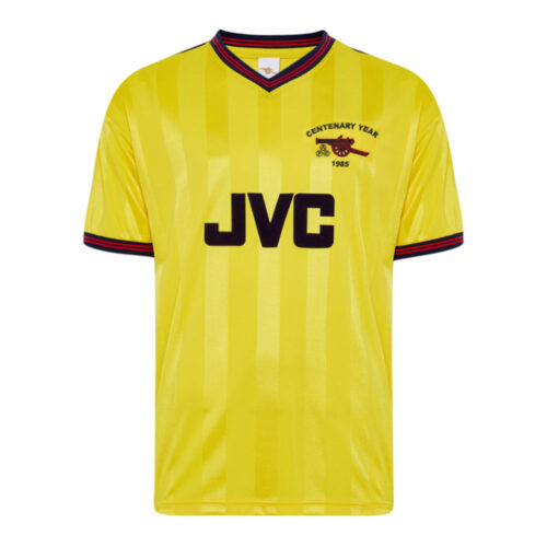 Arsenal 1985-86 Camiseta Fútbol Retro