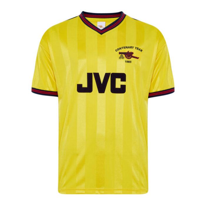 Arsenal 1985-86 Retro Football Jersey