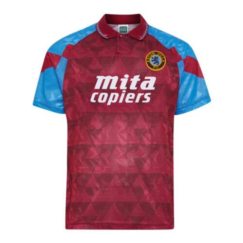Aston Villa 1990-91 Maglia Storica Calcio