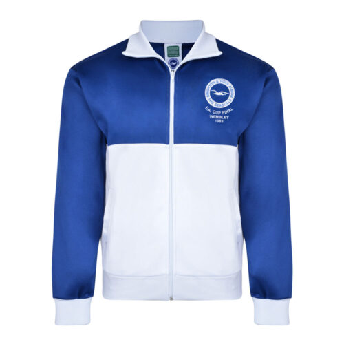 Brighton & Hove Albion 1982-83 Retro Football Track Top