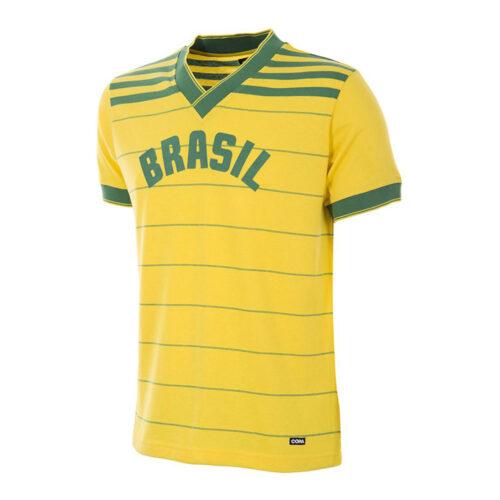 Brasil 1984 Camiseta Retro Fútbol