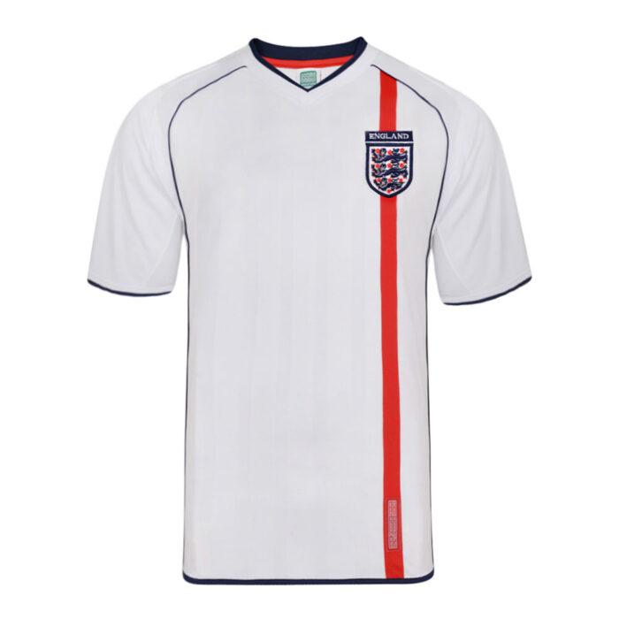 Inghilterra 2002 Maglia Storica Calcio