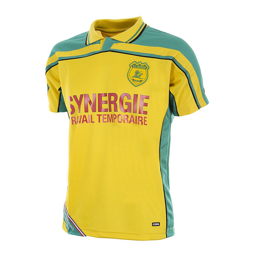 Nantes 2000-01 Retro Football Shirt