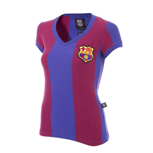 Barcelona 1976-77 Retro Football Shirt Women