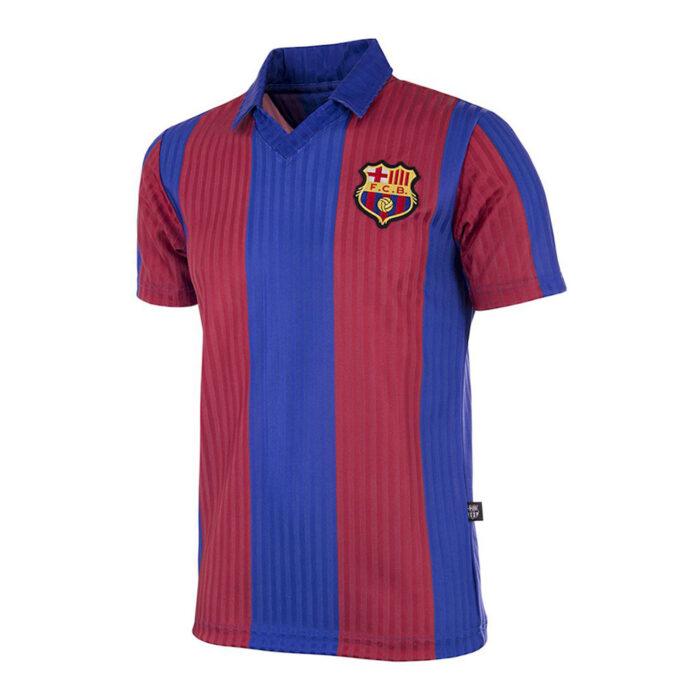 Barcelona 1990-91 Retro Football Shirt