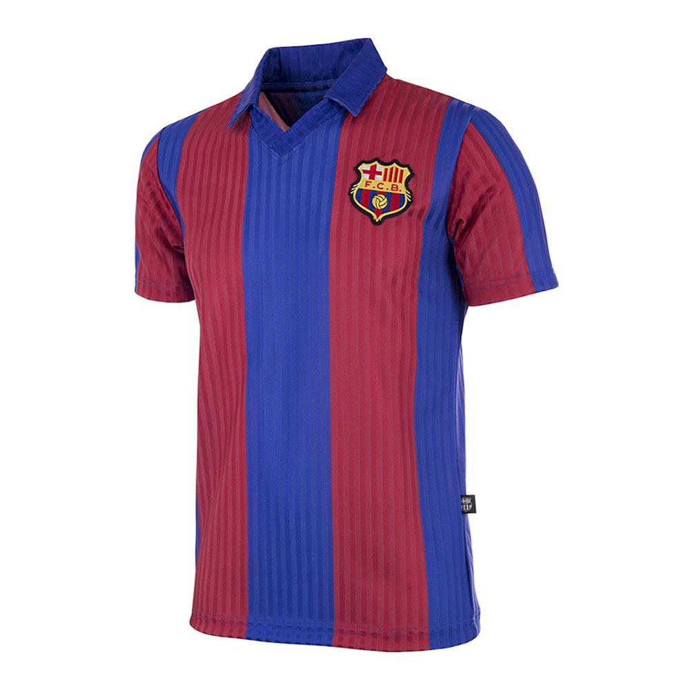 Barcelona 1990-91 Retro Football Shirt