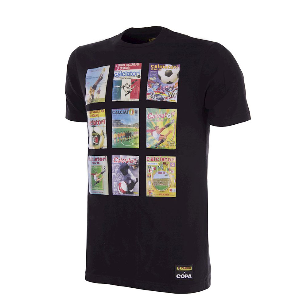 Panini Calciatori Covers Tee Shirt Casual