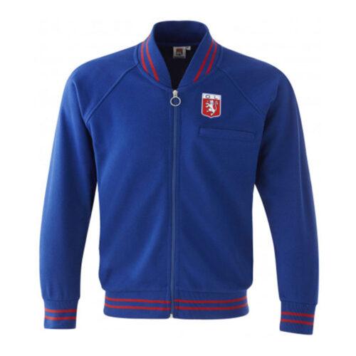 Olympique Lione 1966-67 Giacca Storica Calcio