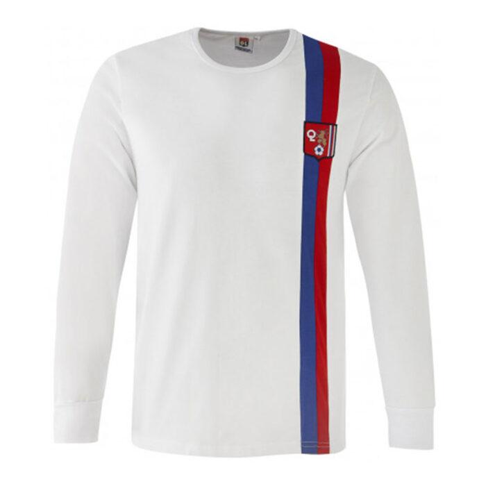 Olympique Lyon 1974-75 Camiseta Retro Fútbol