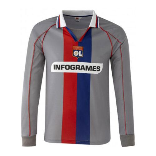 Olympique Lione 2000-01 Maglia Storica Calcio