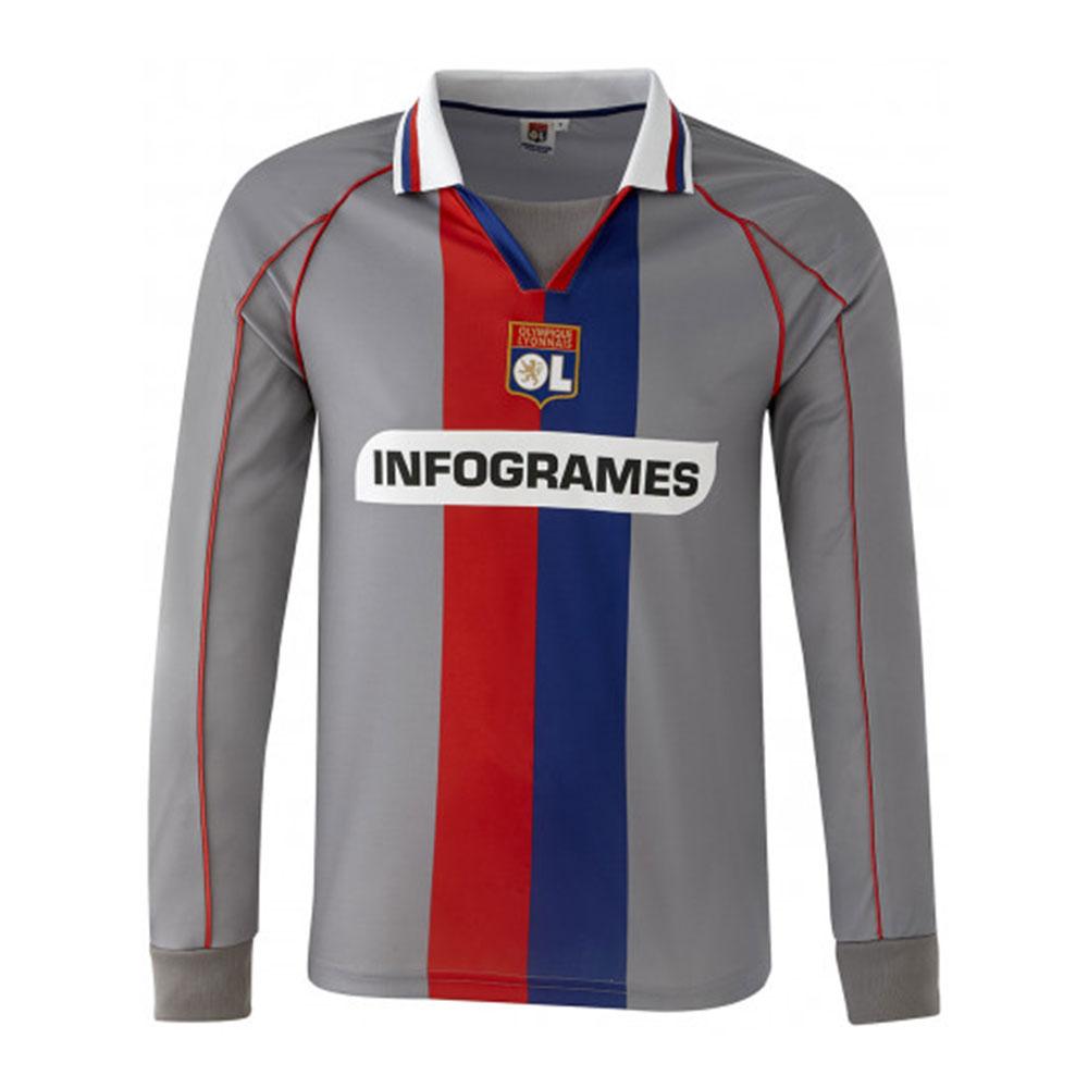 Olympique Lyon 2000-01 Camiseta Retro Fútbol