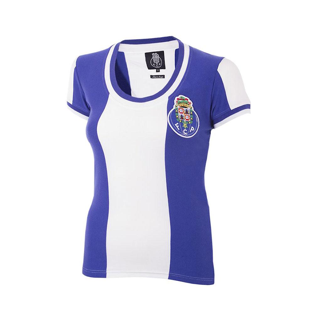 Porto 1971-72 Camiseta Retro Fútbol Mujer