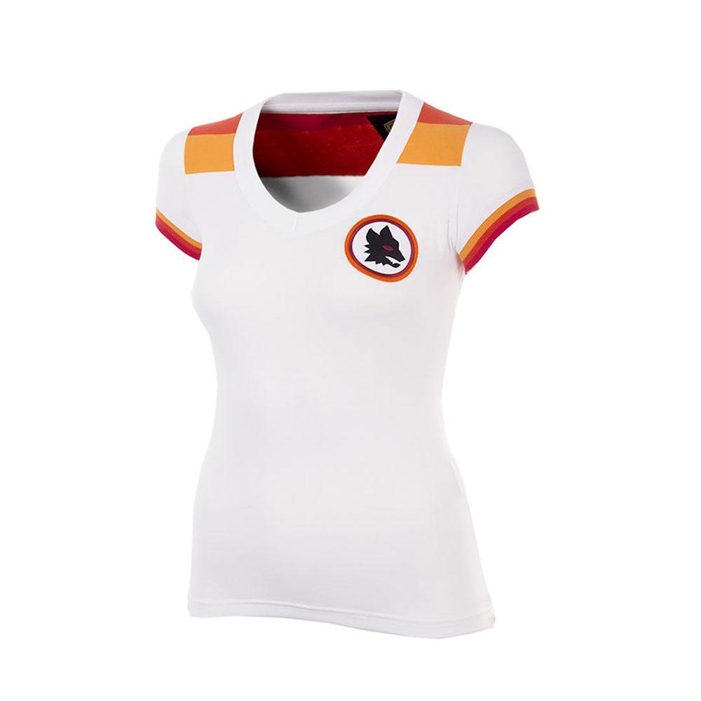 Roma 1979-80 Maglia Calcio Storica Donna