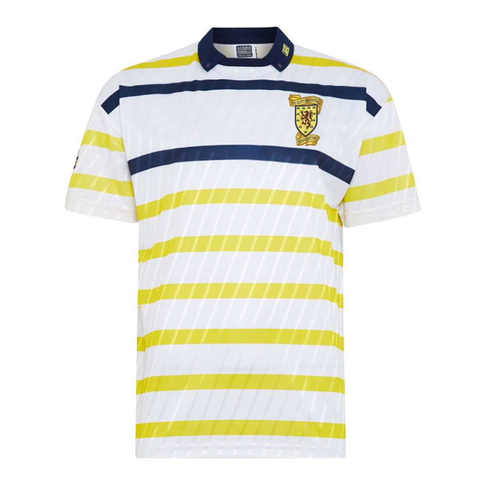 Escocia 1990 Camiseta Fútbol Retro