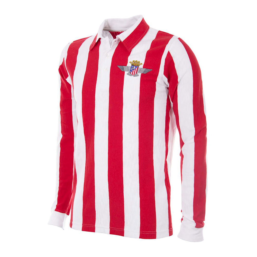 Atletico Aviación 1939-40 Retro Football Shirt