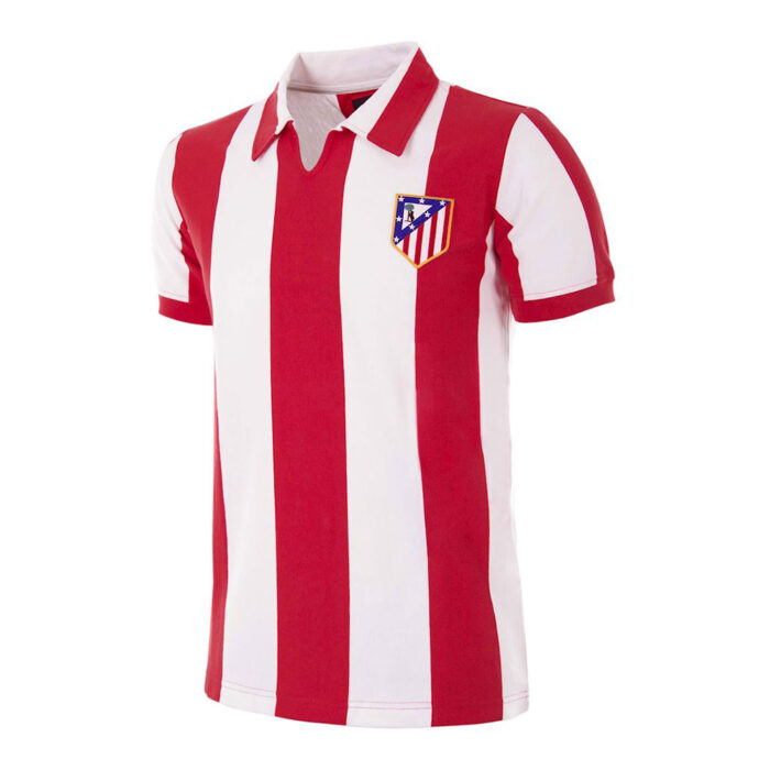 Atletico Madrid 1969-70 Retro Football Shirt