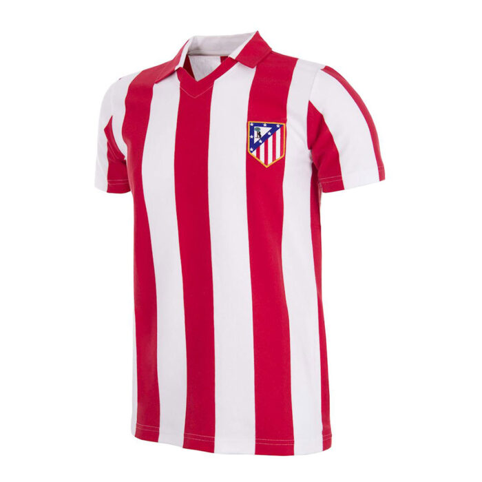 Atletico Madrid 1985-86 Retro Football Shirt