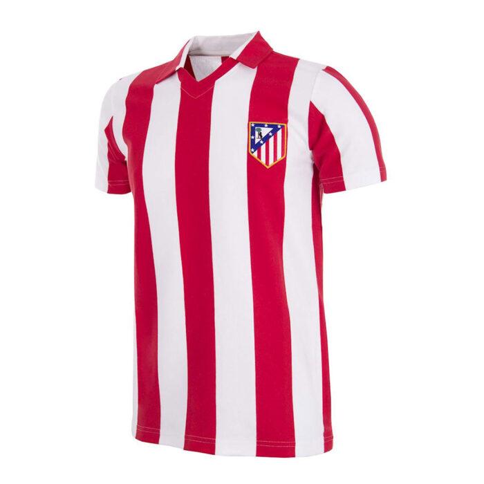 Atletico Madrid 1985-86 Maglia Storica Calcio