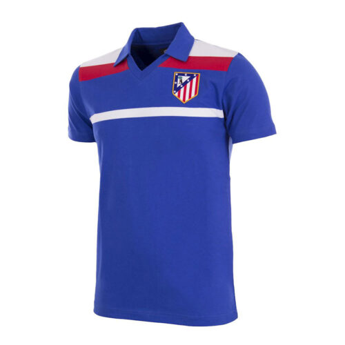 Atletico Madrid 1985-86 Retro Football Jersey