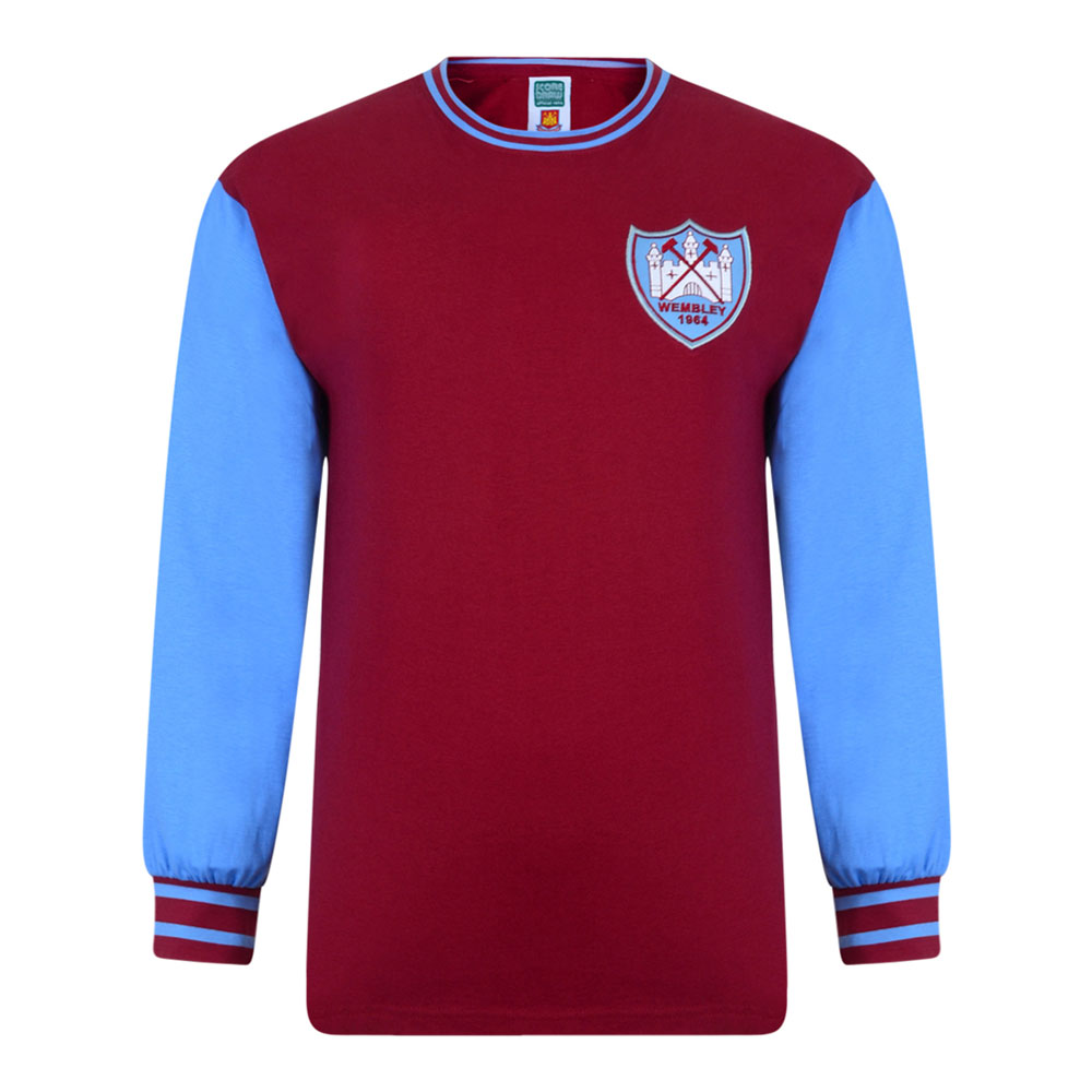 West Ham United 1963-64 Retro Football Shirt