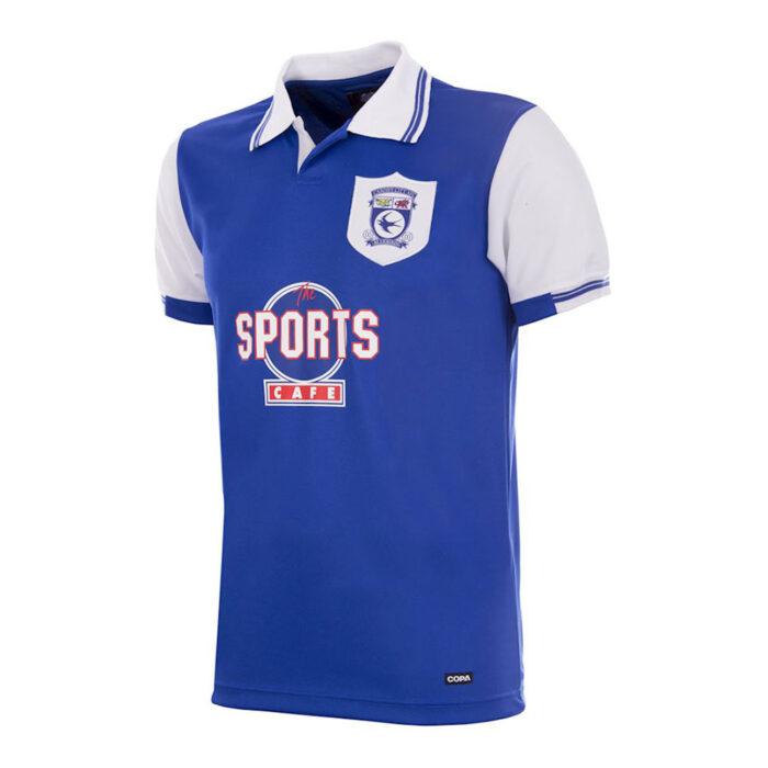 Cardiff City 1998-99 Camiseta Retro Fútbol