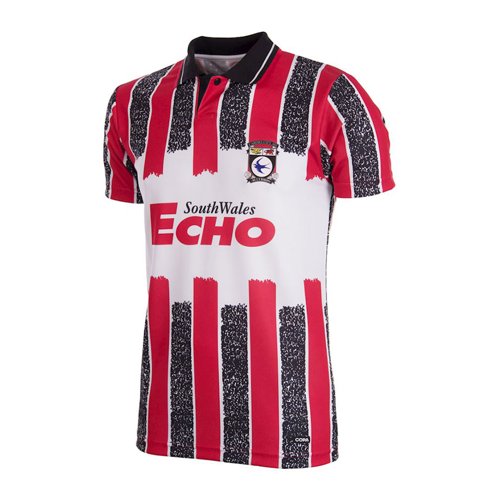 Cardiff City 1993-94 Camiseta Retro Fútbol