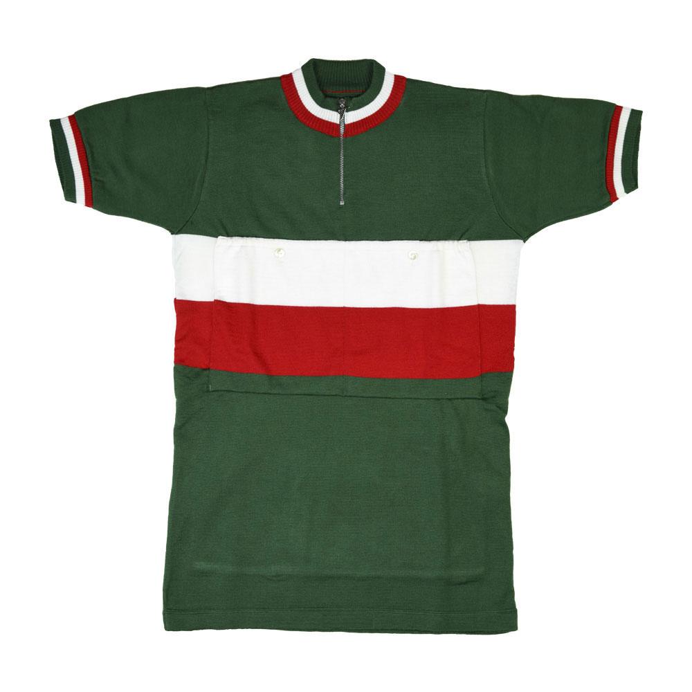 Italia 1948 Maillot Retro Ciclismo