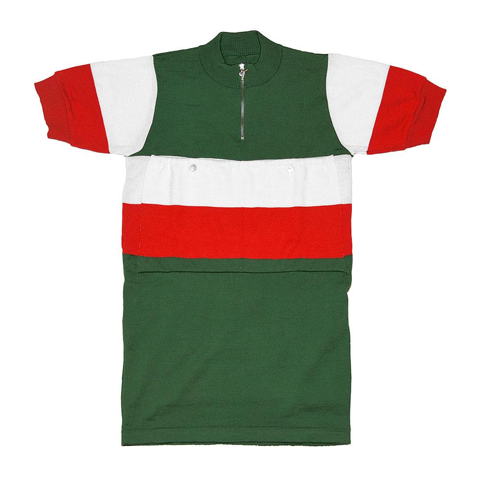 Italia 1960 Maillot Retro Ciclismo