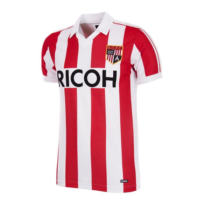 Stoke City 1982-83 Maglia Storica Calcio