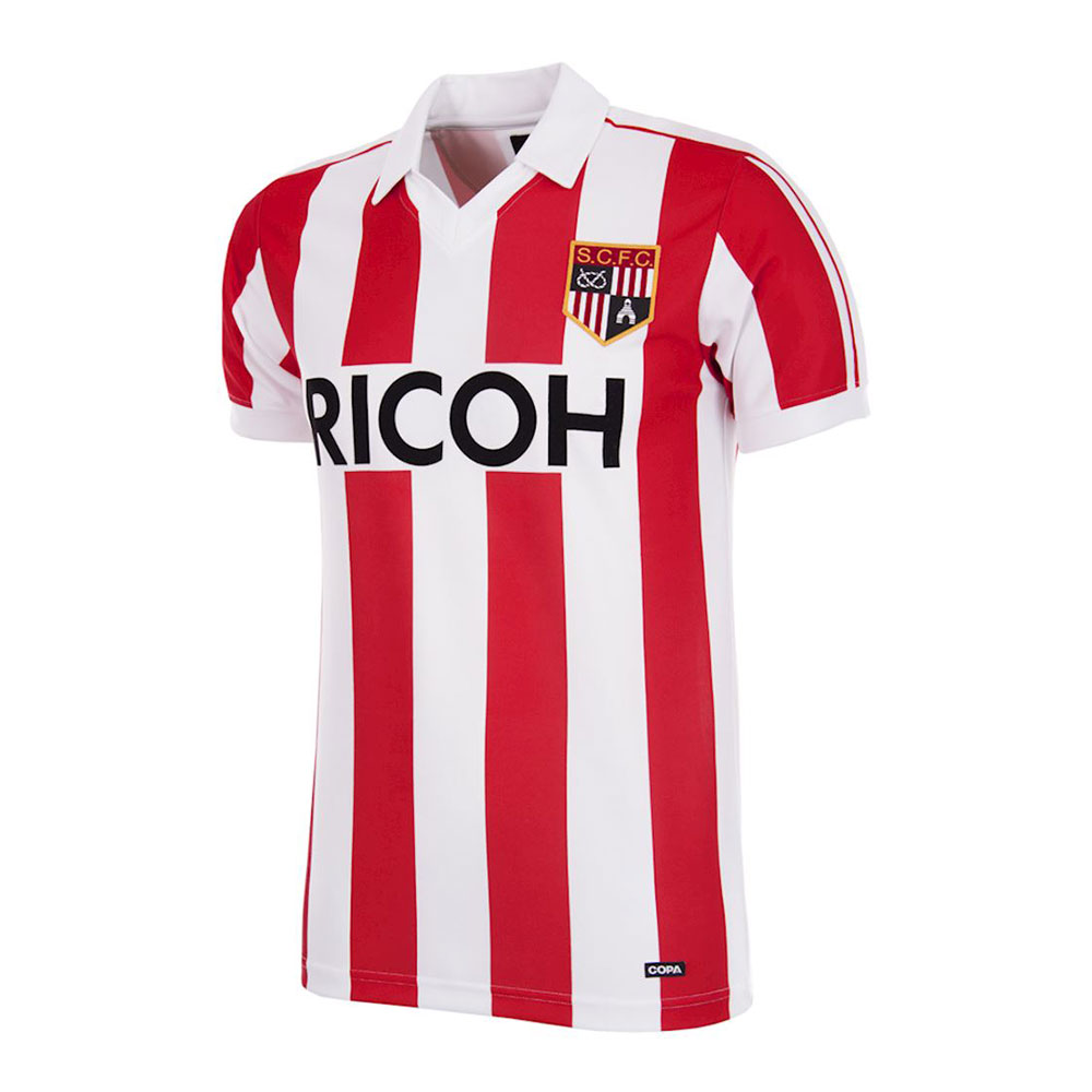 Stoke City 1982-83 Camiseta Retro Fútbol