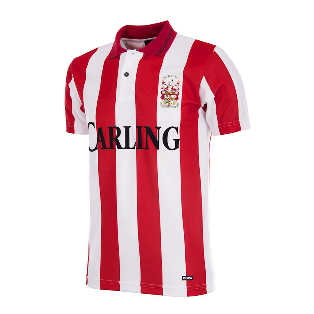 Stoke City 1993-94 Camiseta Retro Fútbol