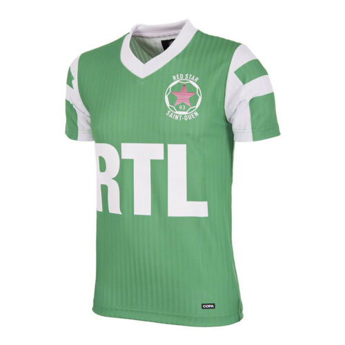 Red Star St Ouen 1991-92 Camiseta Retro Fútbol