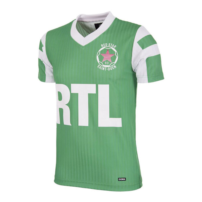 Red Star St Ouen 1991-92 Maillot Rétro Foot