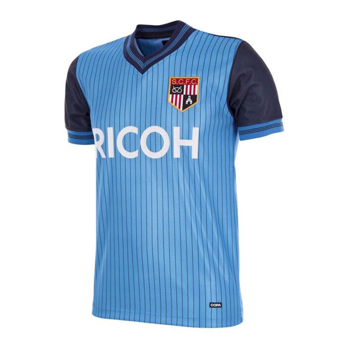 Stoke City 1983-84 Maglia Storica Calcio