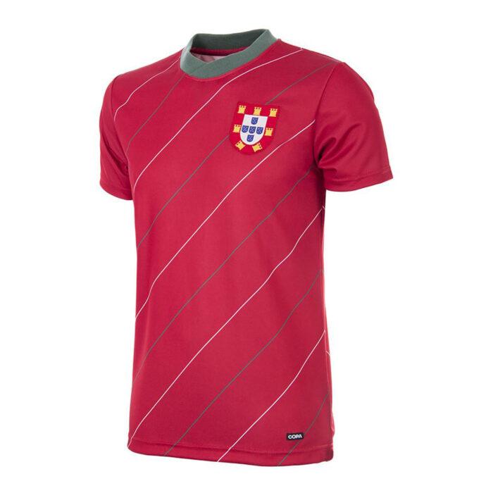 Portogallo 1984 Maglia Storica Calcio