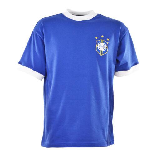 Brazil 1972 Retro Football Shirt