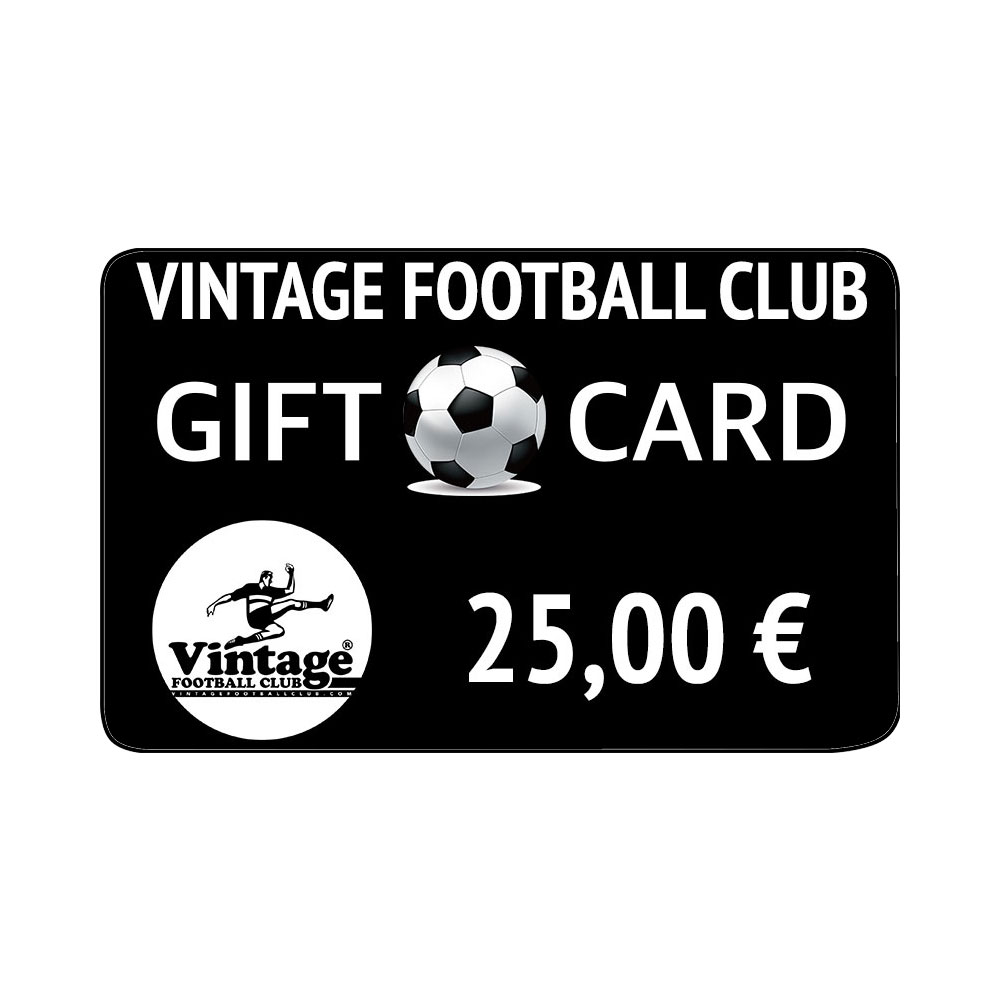 Vintage Football Club Gift Card 25 €