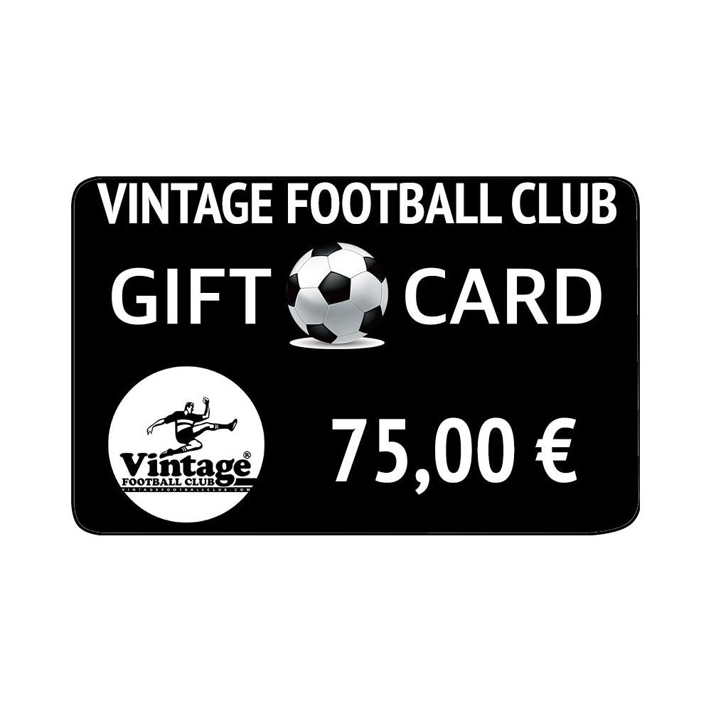 Vintage Football Club Gift Card 75 €