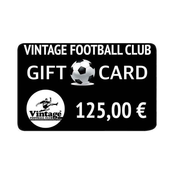 Vintage Football Club Gift Card 125 €