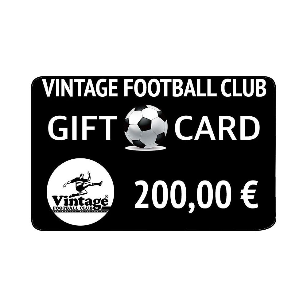 Vintage Football Club Gift Card 200 €