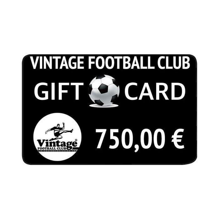 Vintage Football Club Gift Card 750 €