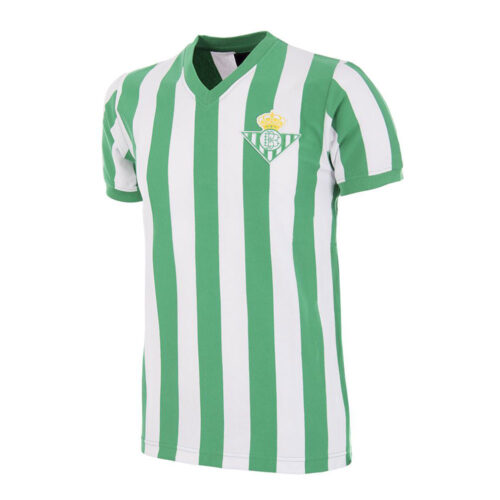 Real Betis Seville 1976-77 Maillot Rétro Foot