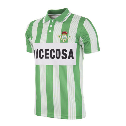 Real Betis Seville 1993-94 Maillot Rétro Foot