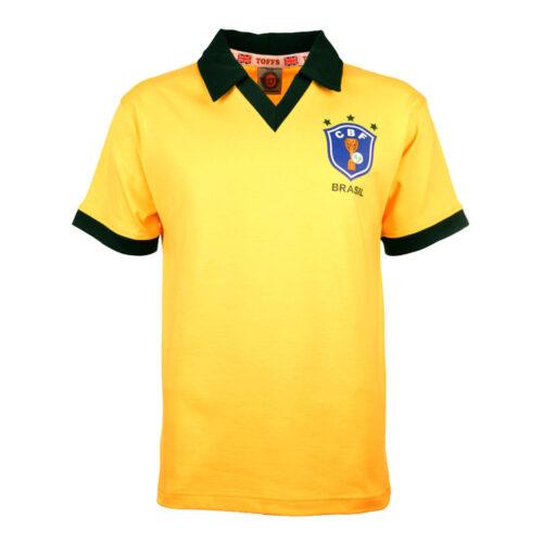 Brazil 1986 Retro Football Shirt